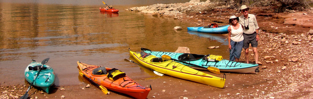 Kayaking with WIN RV Singles
