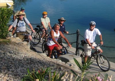 What a good looking group! Bill, Bill, Carol, Peter, Ron, (fearless leader) Mark, and I all had a perfect ride.