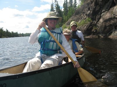 We have now fully experienced the Boundary Waters Wilderness Area. First we paddled it. . .