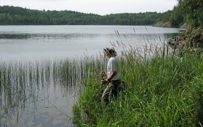 then we hiked (well, that wasn't technically in the Boundary Waters). . .